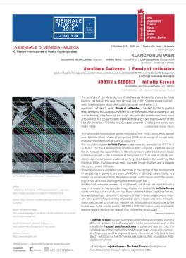 Biennale di Venezia 2015