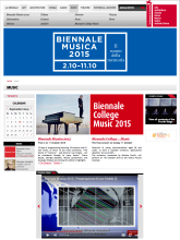 La Biennale di Venezia 2015 INFINITE SCREEN