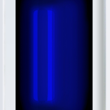 W_WHITESCREEN_4 2010-12 intermedial painting in artists light frame 156x96cm