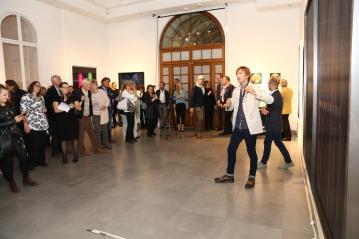 Photo: Andreas Scheiblecker / AROTIN & SERGHEI   solo show ARTCURIAL Vienna  