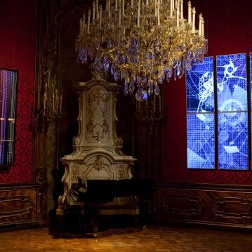 AROTIN & SERGHEI Infinite Time Machine - exhibition view W&K Palais Vienna – photo Lena Kern