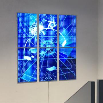 AROTIN & SERGHEI Infinite Time Machine - exhibition view Espace Muraille Geneva