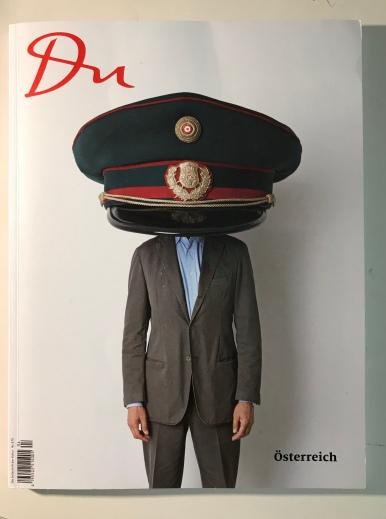 """DU - Kunstzeitschrift Nr 387 Spezialausgabe """"Österreich"""" 2017"""