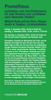Fondation Beyeler 2016