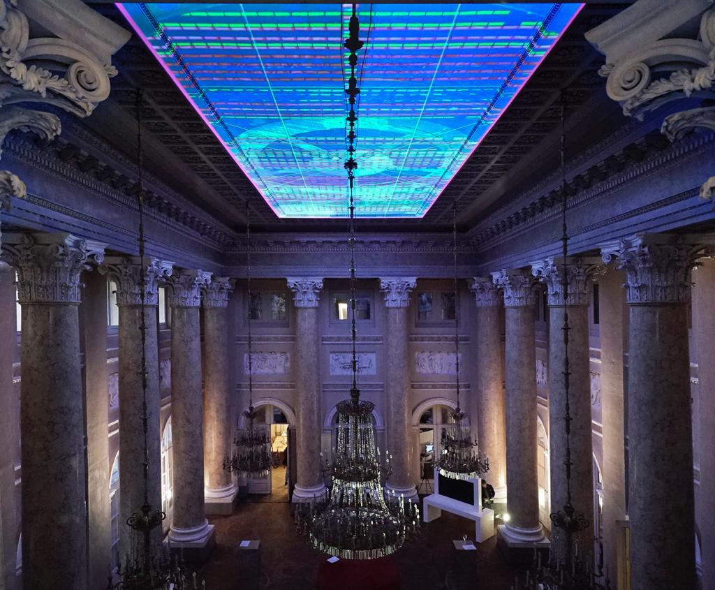 AROTIN & SERGHEI Gatways To Elysium 2018, exhibition view at Palais Rasmuofsky 2018