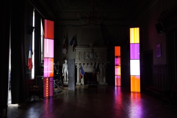 AROTIN & SERGHEI Impressions Dialogues avec Monet exhibition view Arts Festival Vernon Giverny 2019